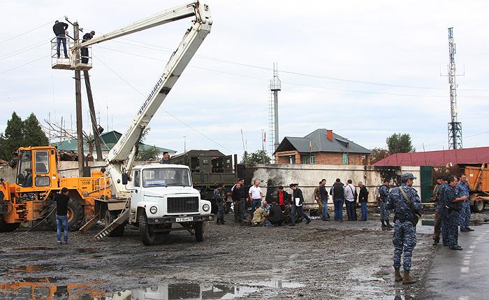 Теракт в Чечне