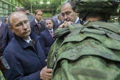 Путин обсудил Сухопутные войска