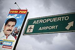 США закрыли небо для самолета Мадуро