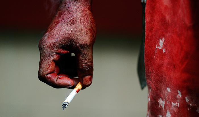 Британских заключенных лишат табака