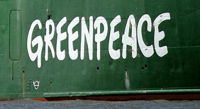Ледокол Greenpeace конвоируют в Мурманск