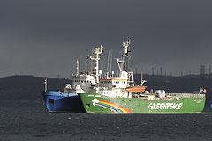 Активистам Greenpeace поменяли статью
