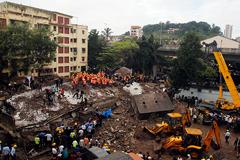 В Мумбаи рухнул жилой дом