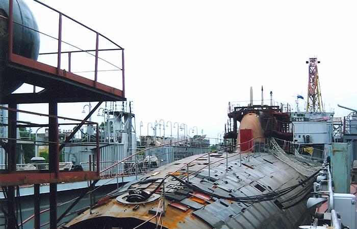 известные катастроф подводных лодок