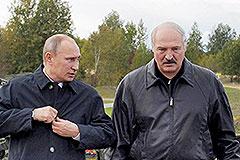 Путин и Лукашенко проверили войска