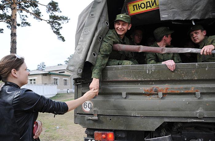 В России начинается весенний призыв
