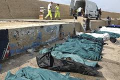 Кораблекрушение у берегов Лампедузы