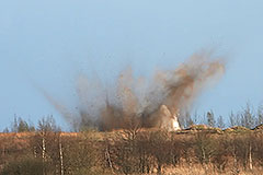 На Псковском полигоне подорвались солдаты