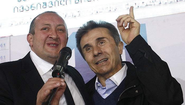 Грузия выбрала Маргвелашвили