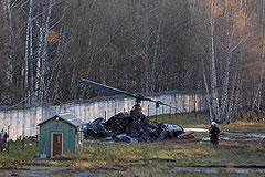 В Жулебино упал военный вертолет