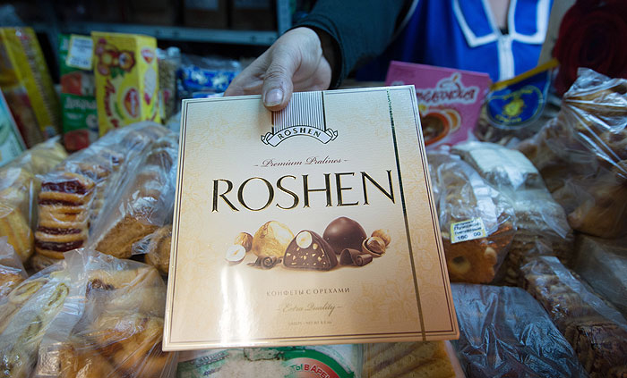 Борьба за конфеты Roshen накаляется