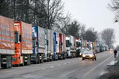 Украинские товары снова застряли на границе