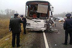 На Ставрополье столкнулись два автобуса
