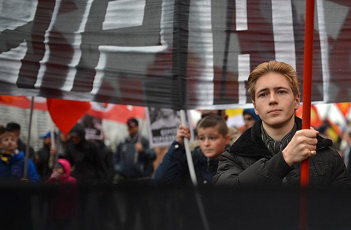 Акции националистов в Москве