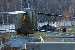 "У ""жулебинского"" вертолета повредился винт"