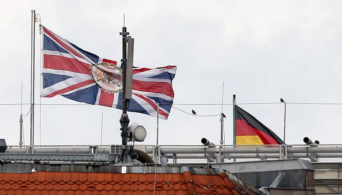 Британцы тоже следили за Германией