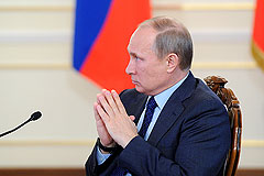 Россияне поддерживают курс Путина