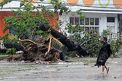 Тайфун принес на Филиппины разрушения