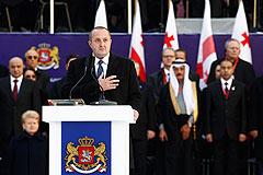 В Тбилиси прошла инаугурация президента