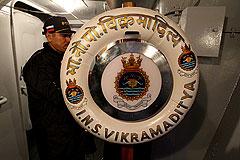Индии передали авианосец