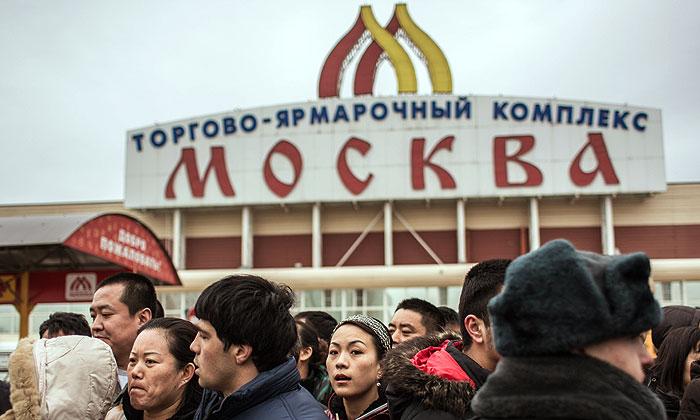 """В ТЦ """"Москва"""" проходят проверки"""
