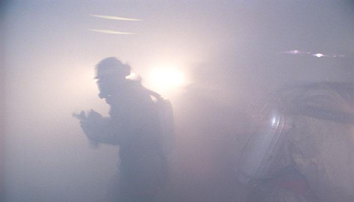 В Кривом Роге в пожаре пострадал мужчина