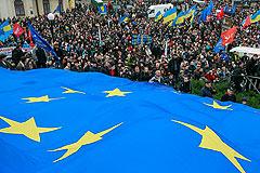 На Украине оппозиция требует евроинтеграции