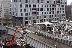 В Риге заканчивают разбор завалов
