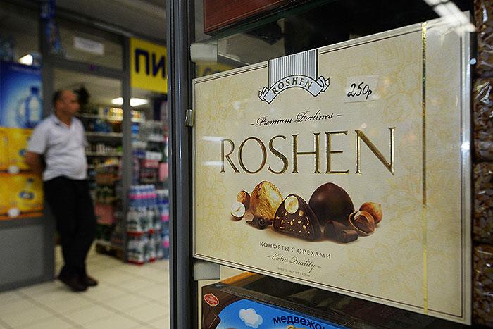 Украинские конфеты возвращаются