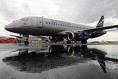 Superjet аварийно сел в Челябинске
