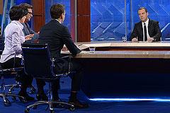Медведев дал интервью телеканалам