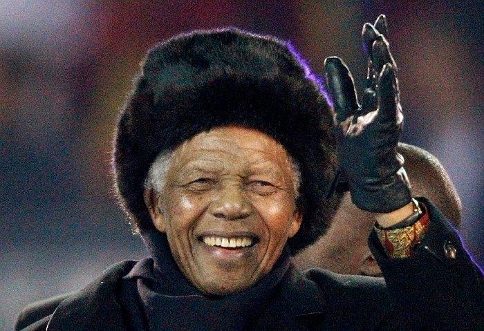 Скончался Нельсон Мандела