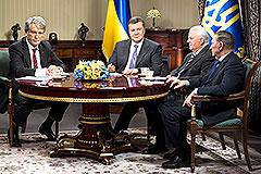 Ющенко помог Януковичу