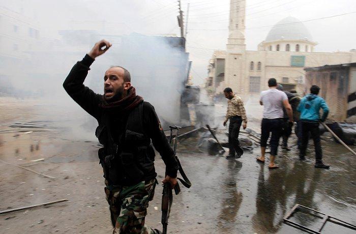 Сирийских повстанцев оставили без помощи