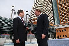 Медведеву понравилась олимпийская гостиница