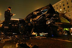 По факту аварии на Кутузовском возбуждено уголовное дело