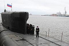 """Атомный крейсер """"Александр Невский"""" передан российскому флоту"""