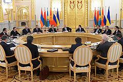 Таможенный союз подготовил программу присоединения Армении