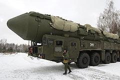 "Ракета ""Ярс"" шахтного базирования успешно поразила цель"