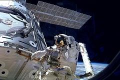 На починку системы охлаждения МКС ушло семь часов