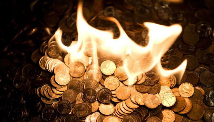 Банковский сектор в очищающем огне