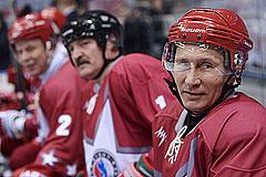 Путин и Лукашенко сыграли в хоккей в одной команде