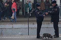 В перестрелке на Белорусском вокзале в Москве ранен полицейский