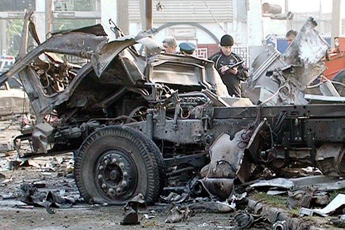 Задержаны подозреваемые во взрыве у здания ГИБДД в Пятигорске