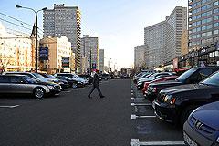 Мэрия столицы планирует вывести платную парковку за пределы Садового кольца