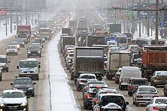 Четверг стал самым сложным днем для московских водителей в новом году