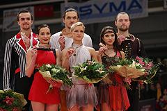 Российские фигуристы заняли весь пьедестал на чемпионате Европы