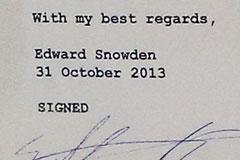 Сноуден открестился от российских спецслужб