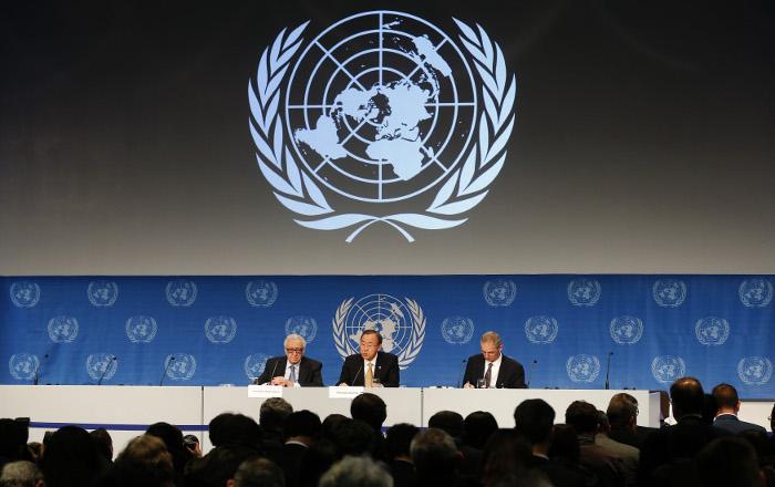 """В Швейцарии завершился первый день конференции """"Женева-2"""""""