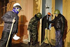 Радикалы заняли здание министерства юстиции Украины